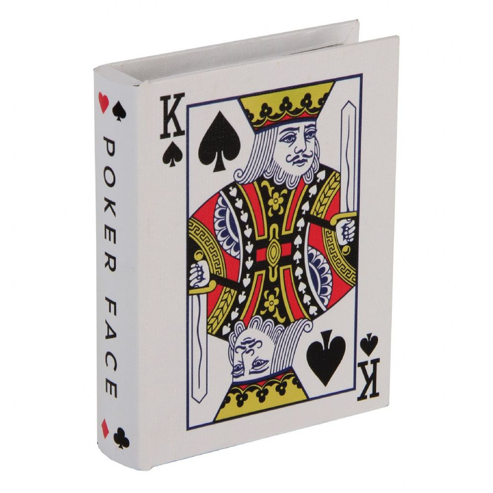Playing Card Storage Box King of Hearts  Monte Carlo Casino Gifts